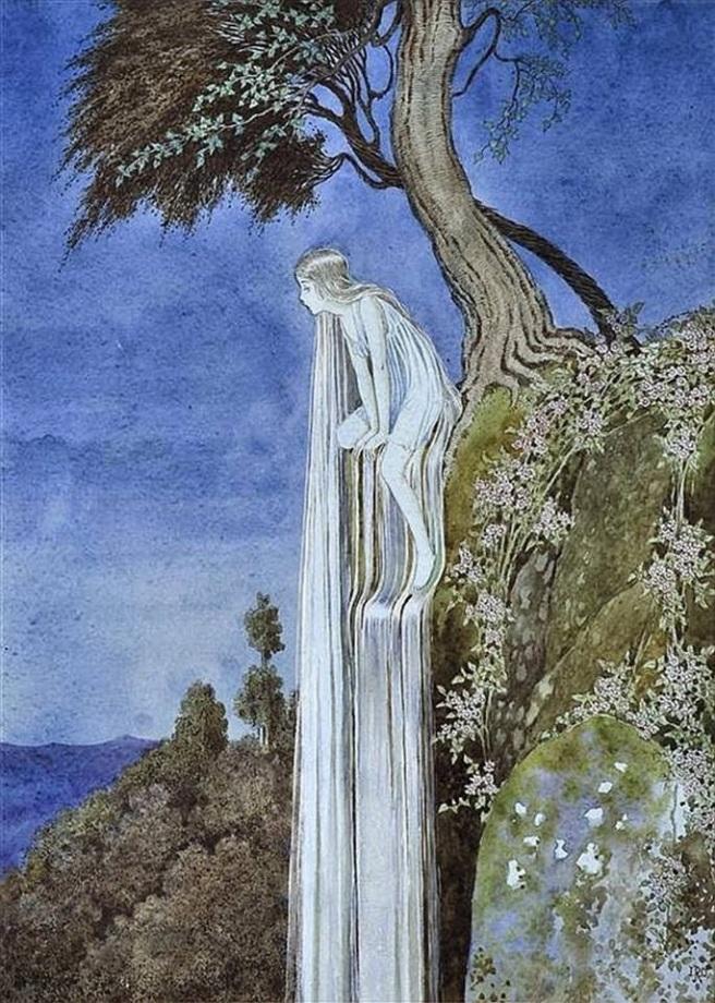 the water fairy - ida rentoul outhwaite
